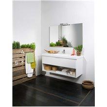 Mobile bagno Life 1 cassetto e 1 mensola con lavabo B10