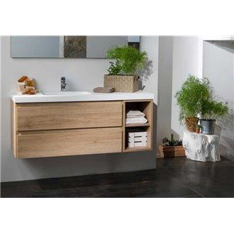 Mobile bagno Life 2 cassetti + modulo con lavabo B10