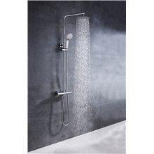 Set doccia termostatico con tocco freddo Round Llavisan