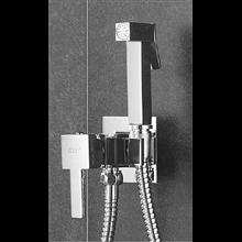 Doccetta acqua fredda per bidet o WC quadrata Oxen
