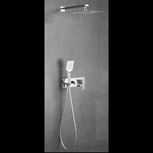 Set doccia monocomando ad incasso Quevedo a soffitto Oxen
