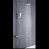 Set doccia termostatico quadrato Molina Oxen