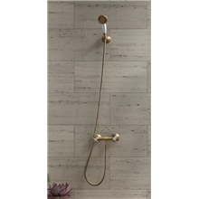 Kit per doccia bicomando stile vintage TRES-CLASIC