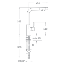 Miscelatore per lavello Osmosis Design Källa