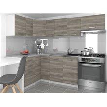 Cucina 360 cm grigio Lidia Tarraco