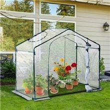 Serra trasparente per giardino Outsunny