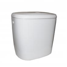 Vaso WC cisterna bassa e coperchio Zoom Roca
