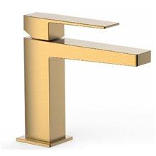 Rubinetto per lavabo oro opaco S SLIM TRES