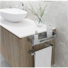 Porta asciugamani a mensola per mobile Baño Diseño