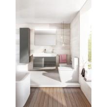 WC  con serbatoio basso Rimless Inspira Square Roca
