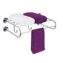 Porta asciugamani a mensola con ganci Cloe Baño...