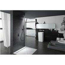 Set doccia a incasso Nero Opaco Svezia IMEX