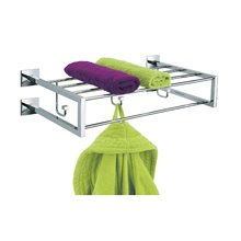 Porta asciugamani multiplo con ganci 54 cm Luk...