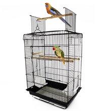 Gabbia per uccelli con tetto convertibile PawHut