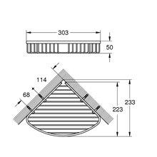 Mensola porta sapone Selection Cube Grohe