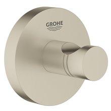 Appendino con base circolare per bagno nichel spazzolato Grohe Essentials
