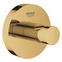 Appendino con base circolare per bagno oro brillante Grohe Essentials