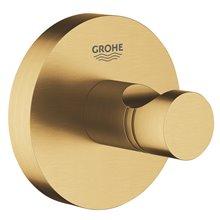 Appendino con base circolare per bagno oro spazzolato Grohe Essentials
