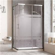 Box doccia rettangolare 75 cm Tegler