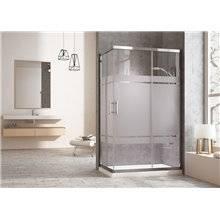 Box doccia rettangolare 90 cm Tegler