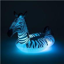 Materassino gonfiabile zebra con LED Bestway