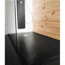 Piatto doccia Slate Nero - B10