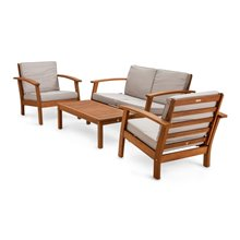Set di mobili da 4 pezzi per 4 persone Milán...