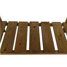 Orto tipo tavolo in legno 80x40x88 Gardiun