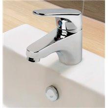 Rubinetto miscelatore con scarico automatico per lavabo Pol TRES