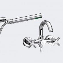 Rubinetto per vasca da bagno con accessori per doccia CALA