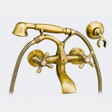 Rubinetto per vasca da bagno Lux con accessori per doccia PINTA