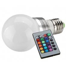 4 lampadine LED RGB 3 W