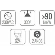 4 Lampadine LED da 13 W