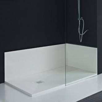 Pannello bagno su misura LAVAGNA/CALCARE/LISCIO