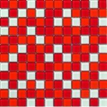 Mosaico VETRO rosso DEKOSTOCK