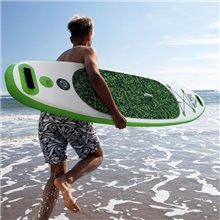 Tavola Paddle Surf verde gonfiabile con remo...