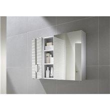 Armadio-specchio 50cm bianco Luna Roca