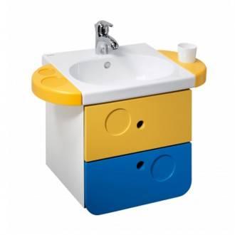 Mobile sospeso WCKids con lavabo
