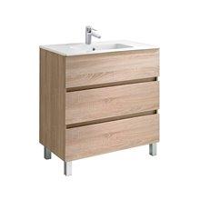 Mobile 3 cassetti  con lavabo per il bagno Jade Gala