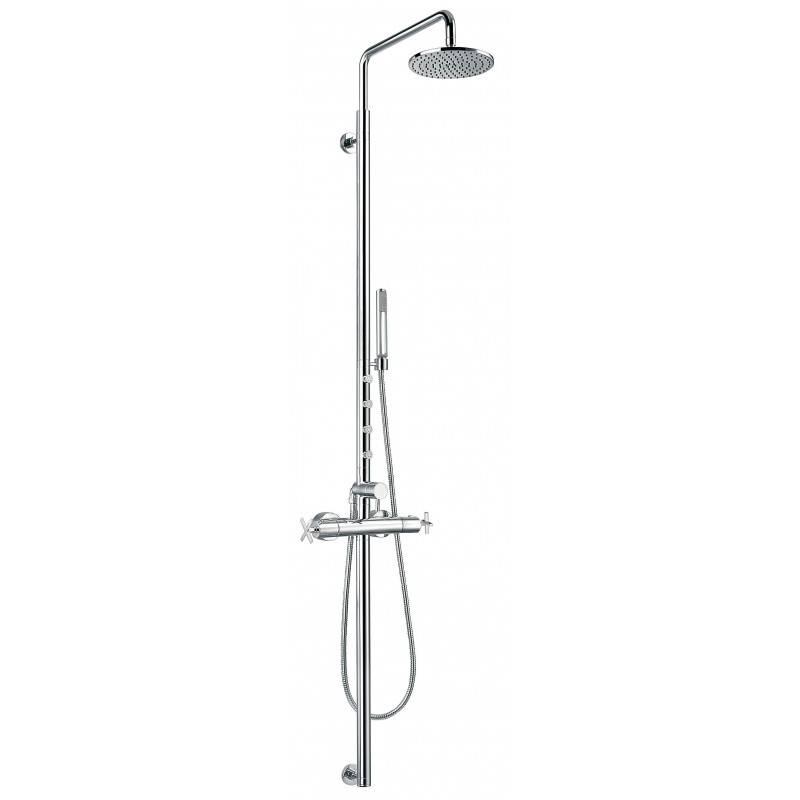 Colonna doccia termostatica con idromassaggio Morea