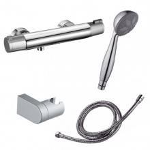 Rubinetto termostatico per doccia Nine Urban con kit doccia