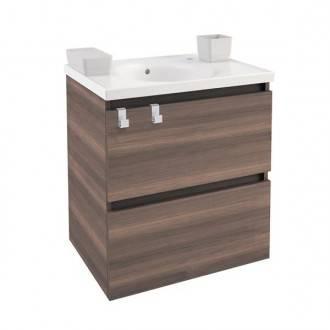 Mobile con lavabo in porcellana 60 cm Frassino B-Box BATH+