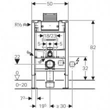 Modulo d'installazione Duofix con Cassetta...