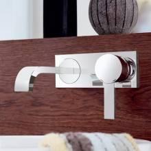 Miscelatore per lavabo a due fori a parete Grohe Allure S
