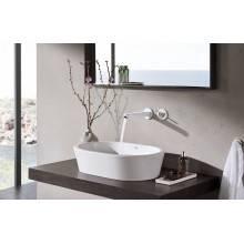 Miscelatore per lavabo a due fori a parete L Moon White Grohe Eurodisc Joy