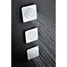 Getto idromassaggio doccia base quadrata Imex