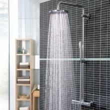 Colonna doccia termostatica con isolante termico Grohe Rainshower System 210