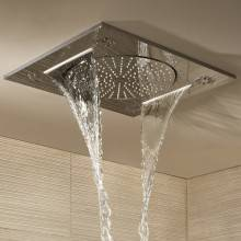 Soffione a soffitto 3 getti Grohe Rainshower...