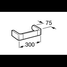 Porta asciugamano lavabo 30cm Select Roca