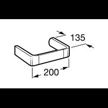 Porta asciugamano bidet 20cm Select Roca